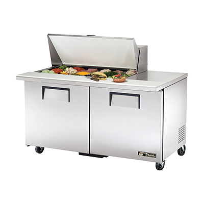 True Manufacturing Co., Inc. TSSU-60-18M-B-HC refrigerated counter, mega top sandwich / salad unit