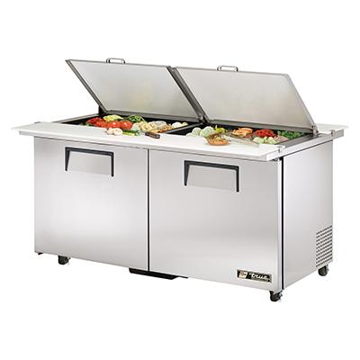 True Manufacturing Co., Inc. TSSU-60-24M-B-DS-ST-ADA-HC refrigerated counter, mega top sandwich / salad unit
