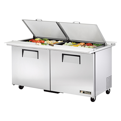 True Manufacturing Co., Inc. TSSU-60-24M-B-DS-ST-HC refrigerated counter, mega top sandwich / salad unit