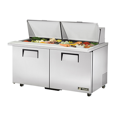 True Manufacturing Co., Inc. TSSU-60-24M-B-ST-ADA-HC refrigerated counter, mega top sandwich / salad unit
