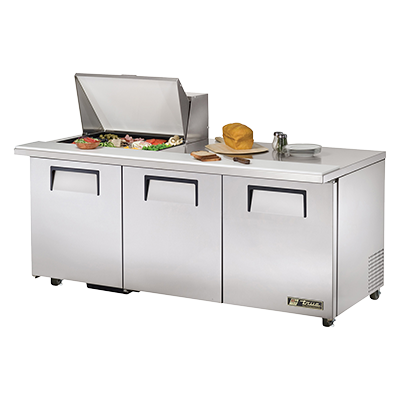 True Manufacturing Co., Inc. TSSU-72-12M-B-ADA-HC refrigerated counter, mega top sandwich / salad unit