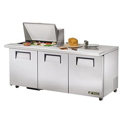 True Manufacturing Co., Inc. TSSU-72-12M-B-ADA-HC refrigerated counter, mega top sandwich / salad unit