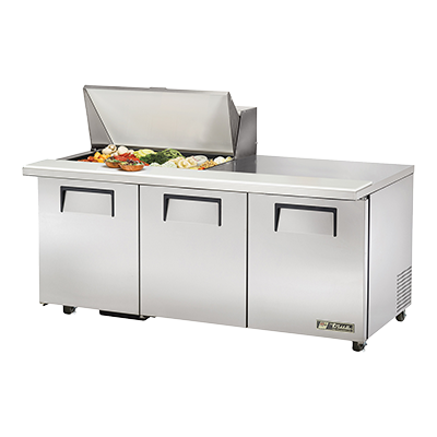 True Manufacturing Co., Inc. TSSU-72-15M-B-ADA-HC refrigerated counter, mega top sandwich / salad unit