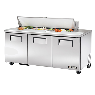 True Manufacturing Co., Inc. TSSU-72-16-HC refrigerated counter, sandwich / salad unit