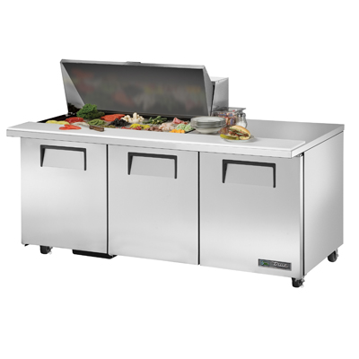 True Manufacturing Co., Inc. TSSU-72-18M-B-ADA-HC refrigerated counter, mega top sandwich / salad unit