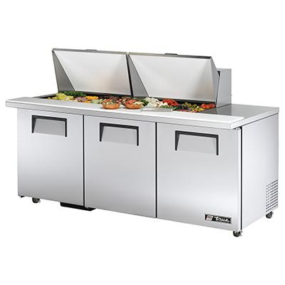 True Manufacturing Co., Inc. TSSU-72-24M-B-ST-ADA-HC refrigerated counter, mega top sandwich / salad unit