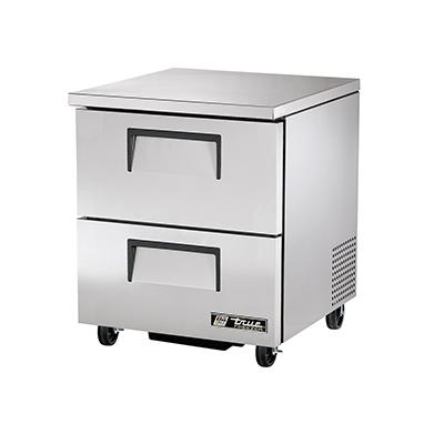 True Manufacturing Co., Inc. TUC-27F-D-2-HC freezer, undercounter, reach-in