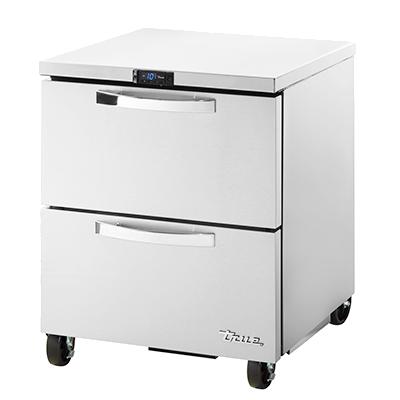 True Manufacturing Co., Inc. TUC-27F-D-2-HC~SPEC3 freezer, undercounter, reach-in