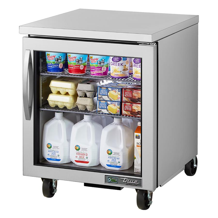 True Manufacturing Co., Inc. TUC-27G-HC~FGD01 refrigerator, undercounter, reach-in