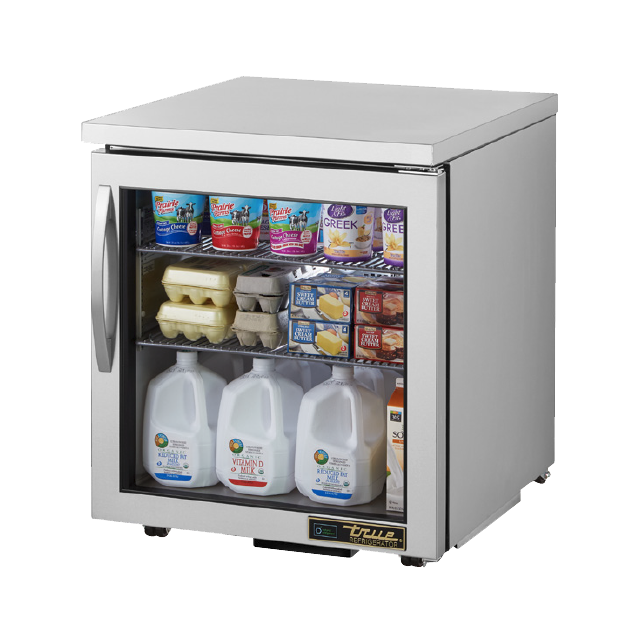 True Manufacturing Co., Inc. TUC-27G-LP-HC~FGD01 refrigerator, undercounter, reach-in