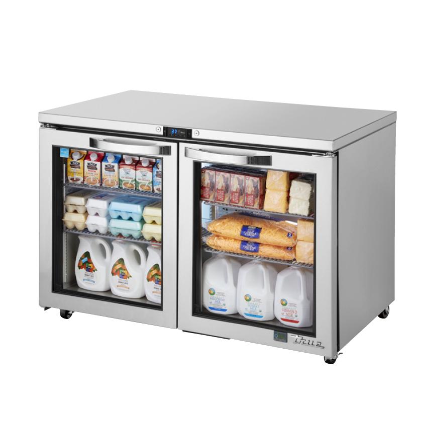 True Manufacturing Co., Inc. TUC-48G-ADA-HC~SPEC3 refrigerator, undercounter, reach-in