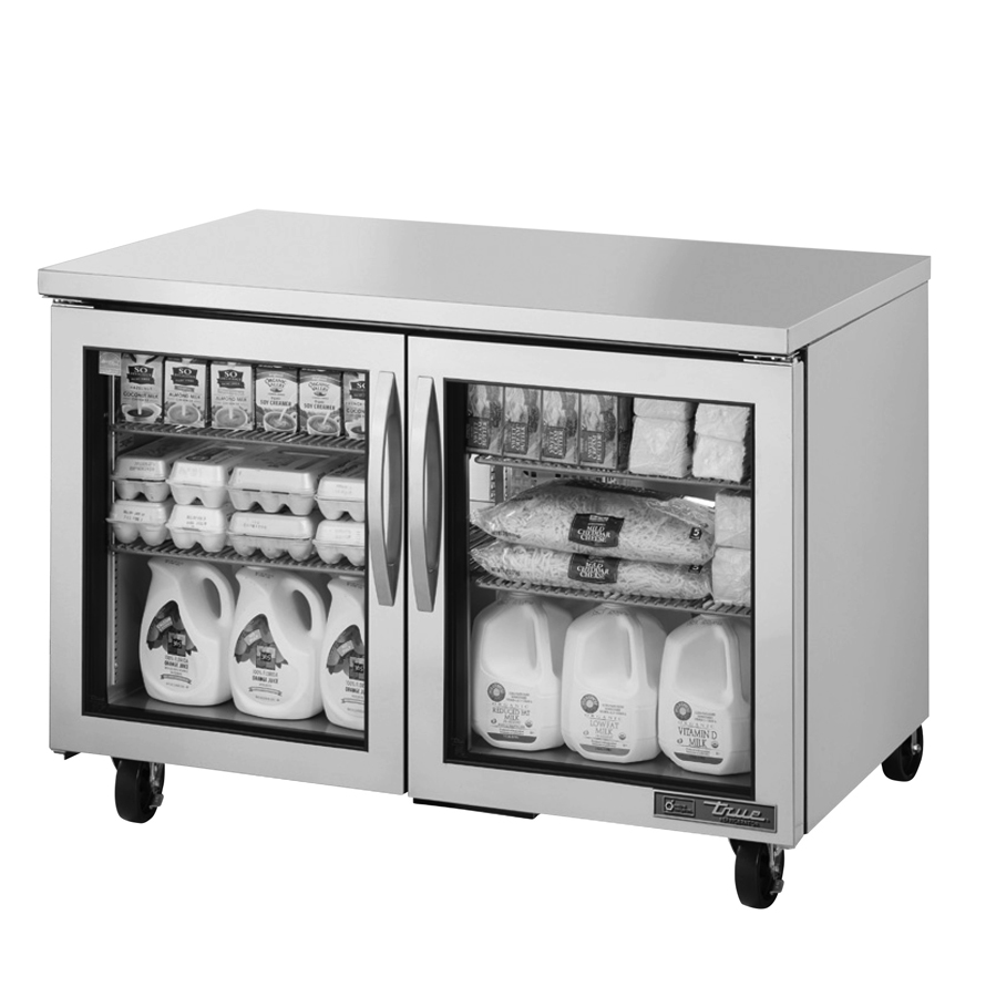 True Manufacturing Co., Inc. TUC-48G-HC~FGD01 refrigerator, undercounter, reach-in