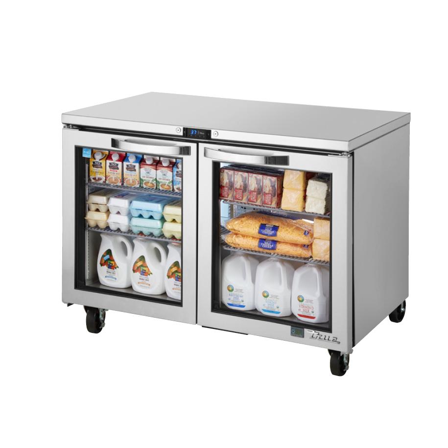 True Manufacturing Co., Inc. TUC-48G-HC~SPEC3 refrigerator, undercounter, reach-in