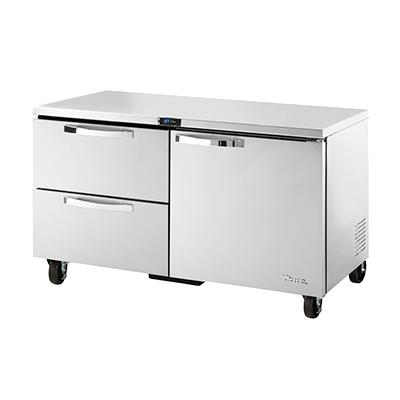 True Manufacturing Co., Inc. TUC-60D-2-HC~SPEC3 refrigerator, undercounter, reach-in
