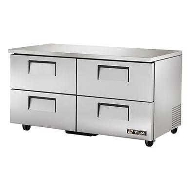 True Manufacturing Co., Inc. TUC-60D-4-HC refrigerator, undercounter, reach-in