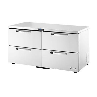 True Manufacturing Co., Inc. TUC-60D-4-LP-HC~SPEC3 refrigerator, undercounter, reach-in