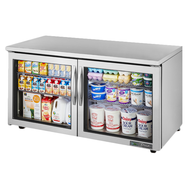 True Manufacturing Co., Inc. TUC-60G-LP-HC~FGD01 refrigerator, undercounter, reach-in