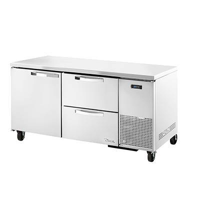 True Manufacturing Co., Inc. TUC-67D-2-HC~SPEC3 refrigerator, undercounter, reach-in