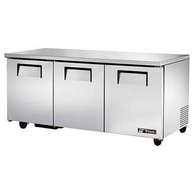 True Manufacturing Co., Inc. TUC-72-HC refrigerator, undercounter, reach-in