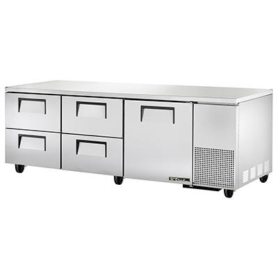 True Manufacturing Co., Inc. TUC-93D-4-HC refrigerator, undercounter, reach-in