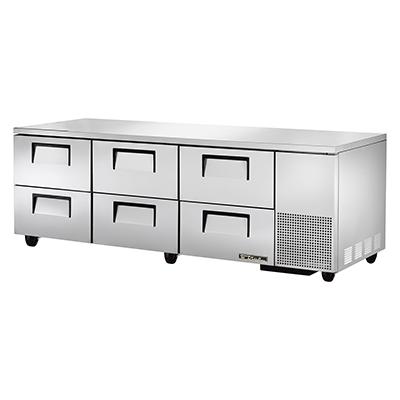 True Manufacturing Co., Inc. TUC-93D-6-HC refrigerator, undercounter, reach-in
