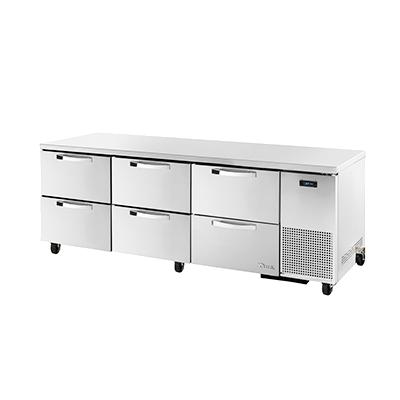 True Manufacturing Co., Inc. TUC-93D-6-HC~SPEC3 refrigerator, undercounter, reach-in
