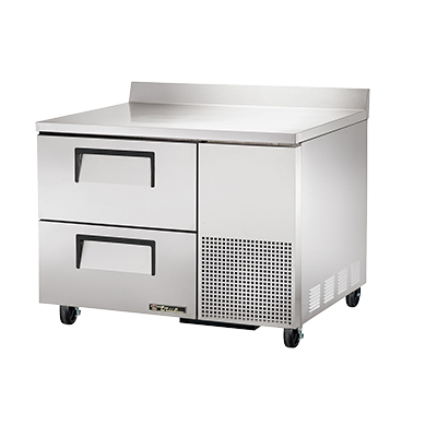 True Manufacturing Co., Inc. TWT-44D-2-HC refrigerated counter, work top