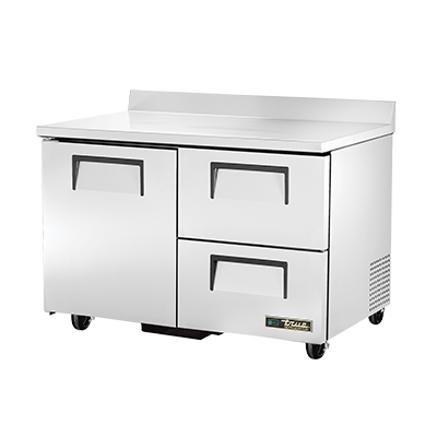 True Manufacturing Co., Inc. TWT-48D-2-HC refrigerated counter, work top