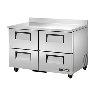 True Manufacturing Co., Inc. TWT-48D-4-HC refrigerated counter, work top