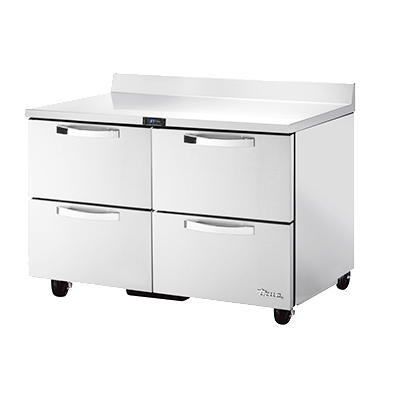 True Manufacturing Co., Inc. TWT-48D-4-HC~SPEC3 refrigerated counter, work top