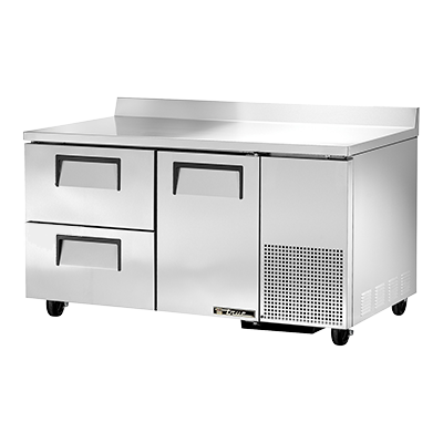 True Manufacturing Co., Inc. TWT-60-32D-2-HC refrigerated counter, work top