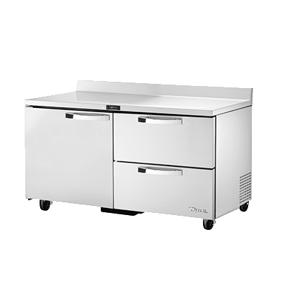 True Manufacturing Co., Inc. TWT-60D-2-HC~SPEC3 refrigerated counter, work top