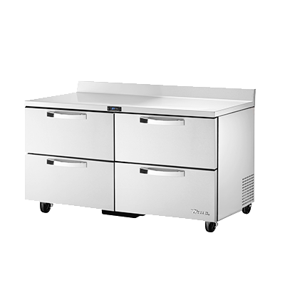 True Manufacturing Co., Inc. TWT-60D-4-HC~SPEC3 refrigerated counter, work top