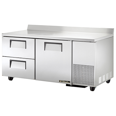 True Manufacturing Co., Inc. TWT-67D-2-HC refrigerated counter, work top