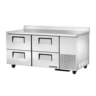 True Manufacturing Co., Inc. TWT-67D-4-HC refrigerated counter, work top