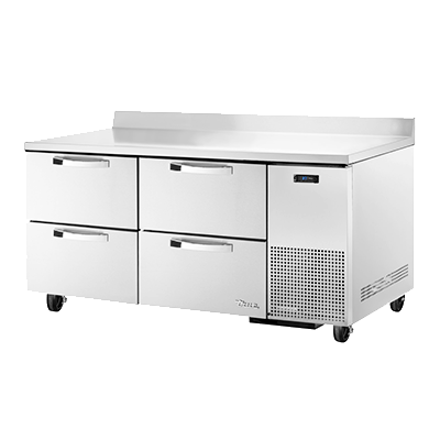 True Manufacturing Co., Inc. TWT-67D-4-HC~SPEC3 refrigerated counter, work top