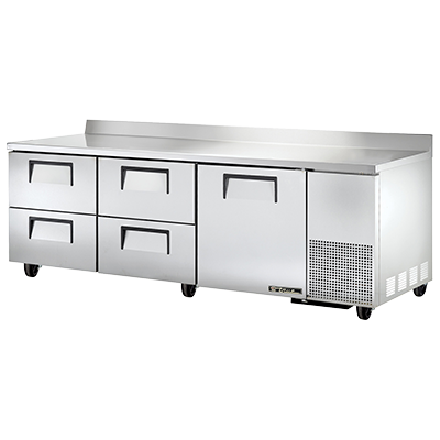 True Manufacturing Co., Inc. TWT-93D-4-HC refrigerated counter, work top
