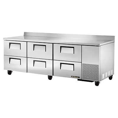 True Manufacturing Co., Inc. TWT-93D-6-HC refrigerated counter, work top