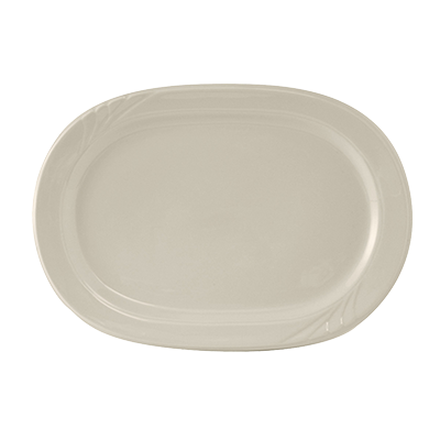 Tuxton China YEH-137 platter, china