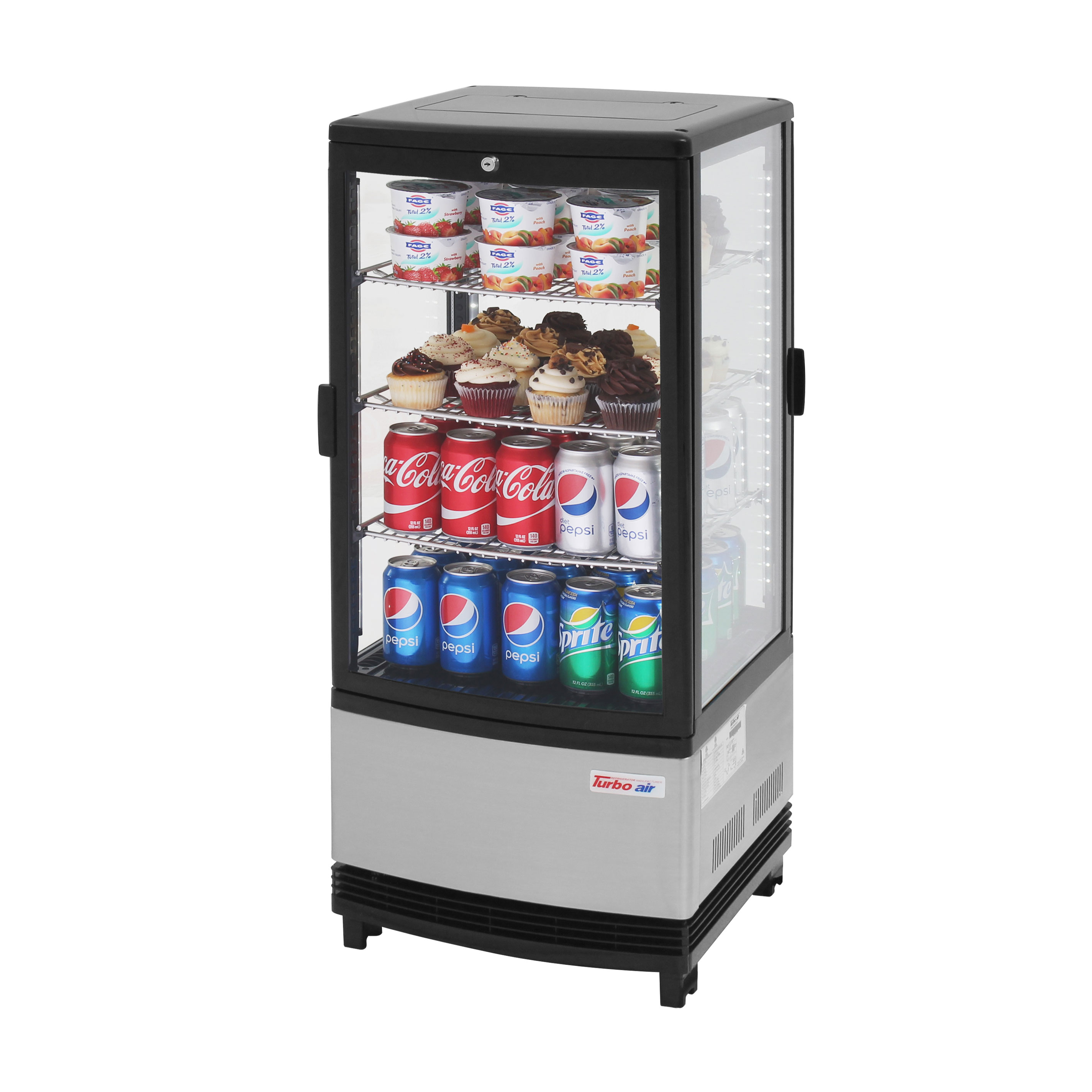 Turbo Air CRT-77-2R-N display case, refrigerated, countertop