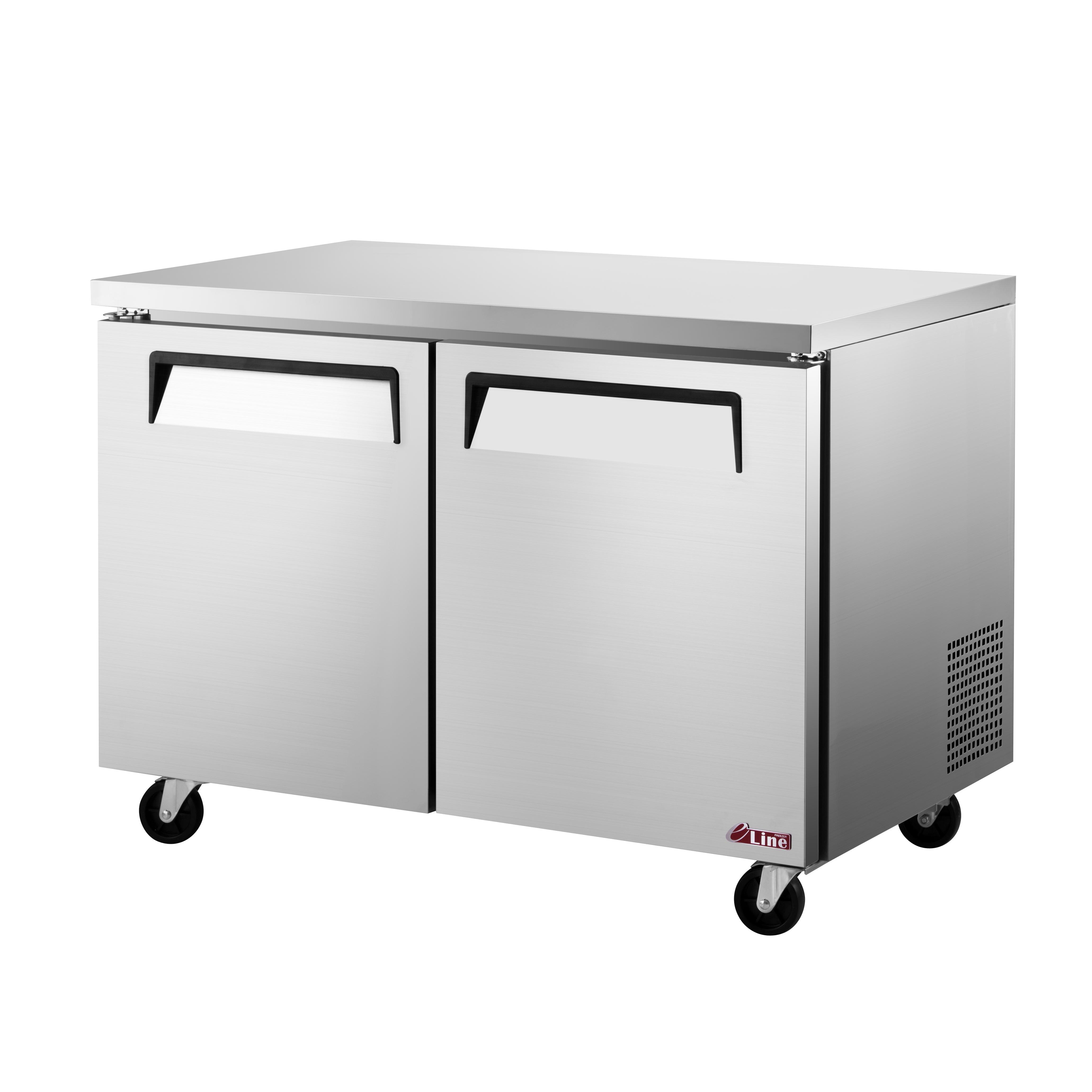 Turbo Air EUF-48-N freezer, undercounter, reach-in
