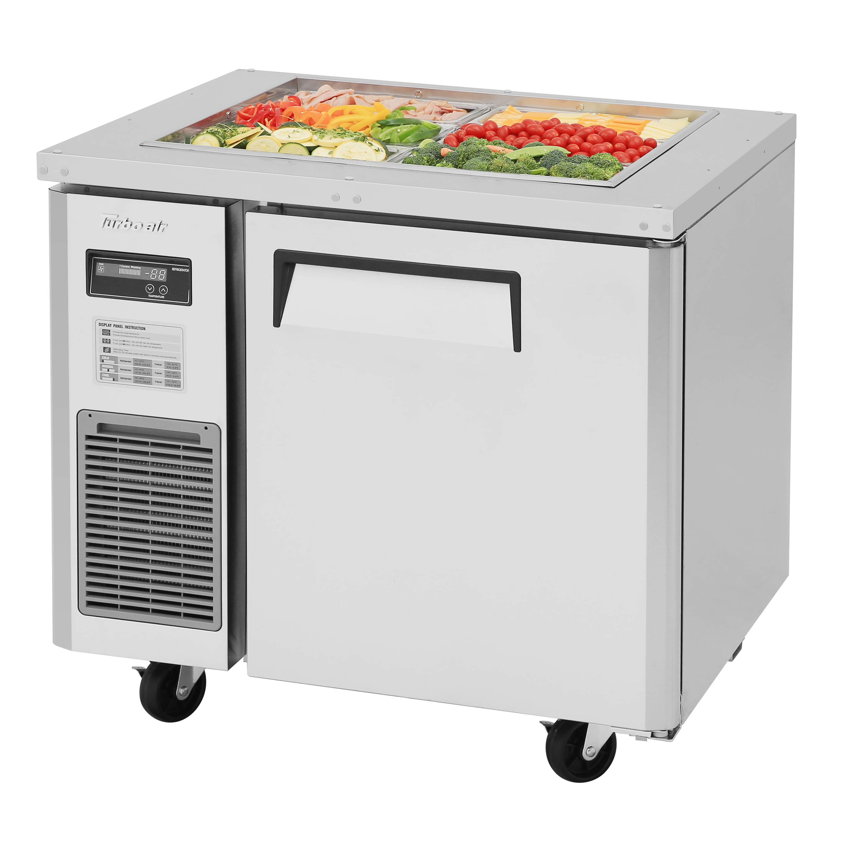 Turbo Air JBT-36-N refrigerated counter, sandwich / salad unit