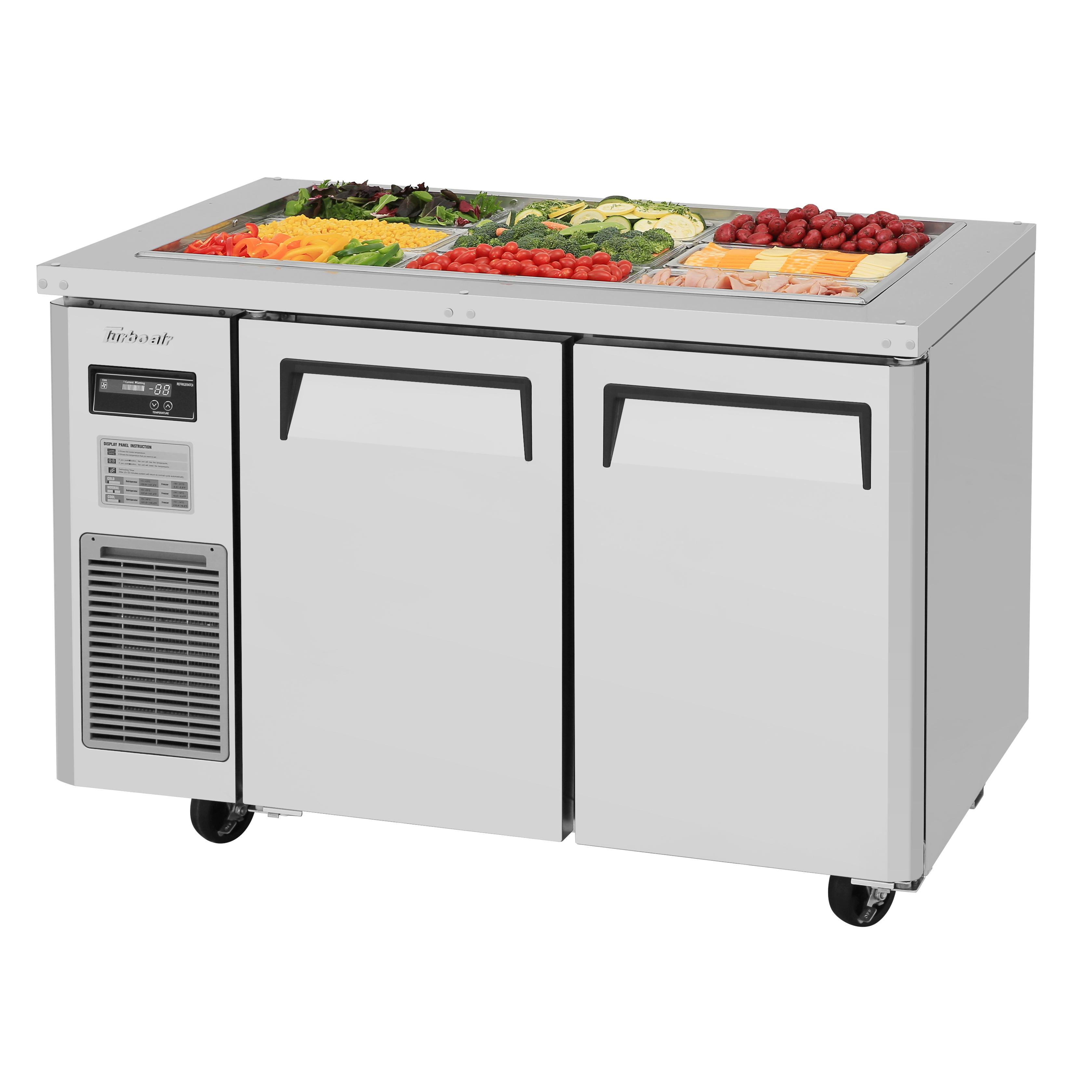 Turbo Air JBT-48-N refrigerated counter, sandwich / salad unit