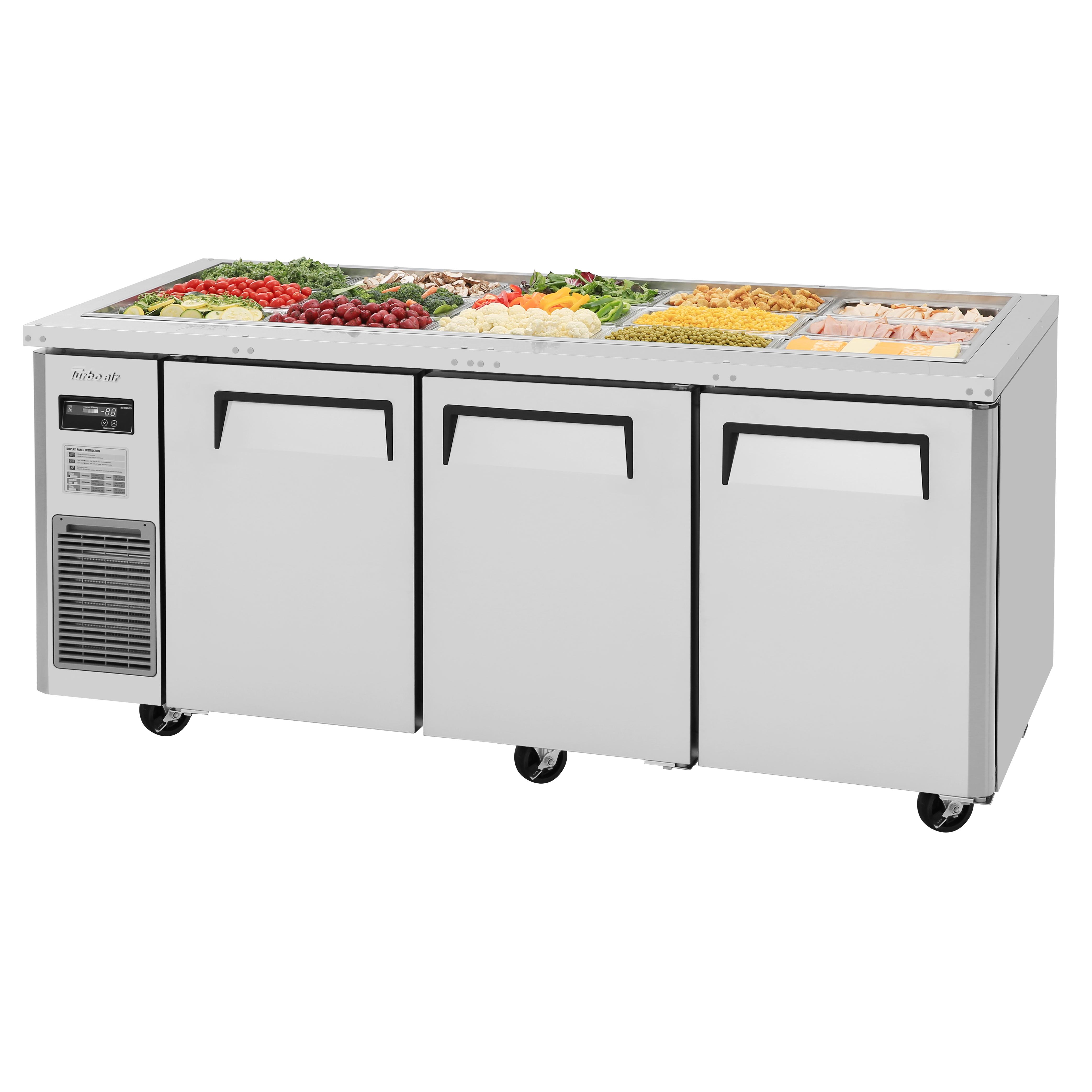 Turbo Air JBT-72-N refrigerated counter, sandwich / salad unit