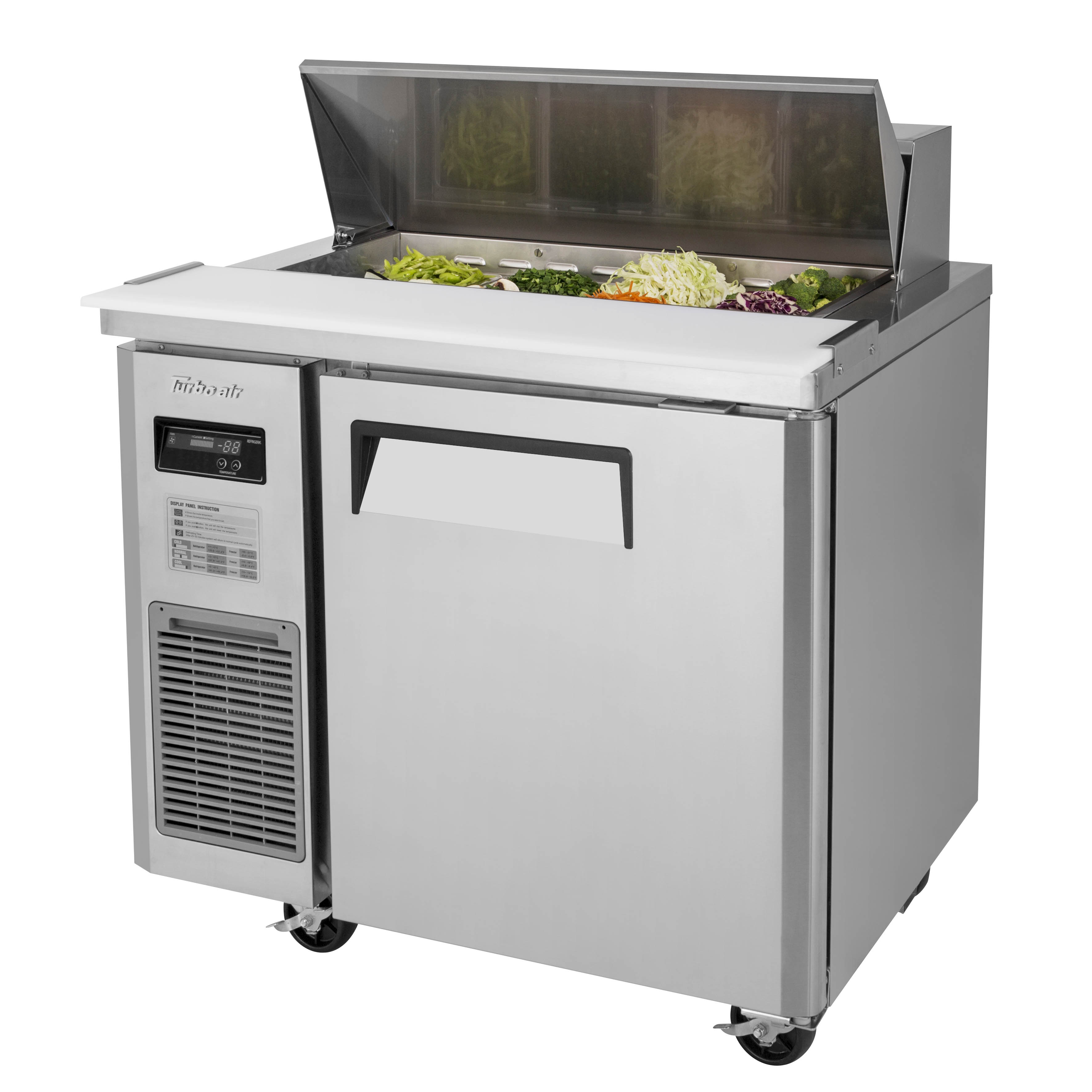 Turbo Air JST-36-N refrigerated counter, sandwich / salad unit