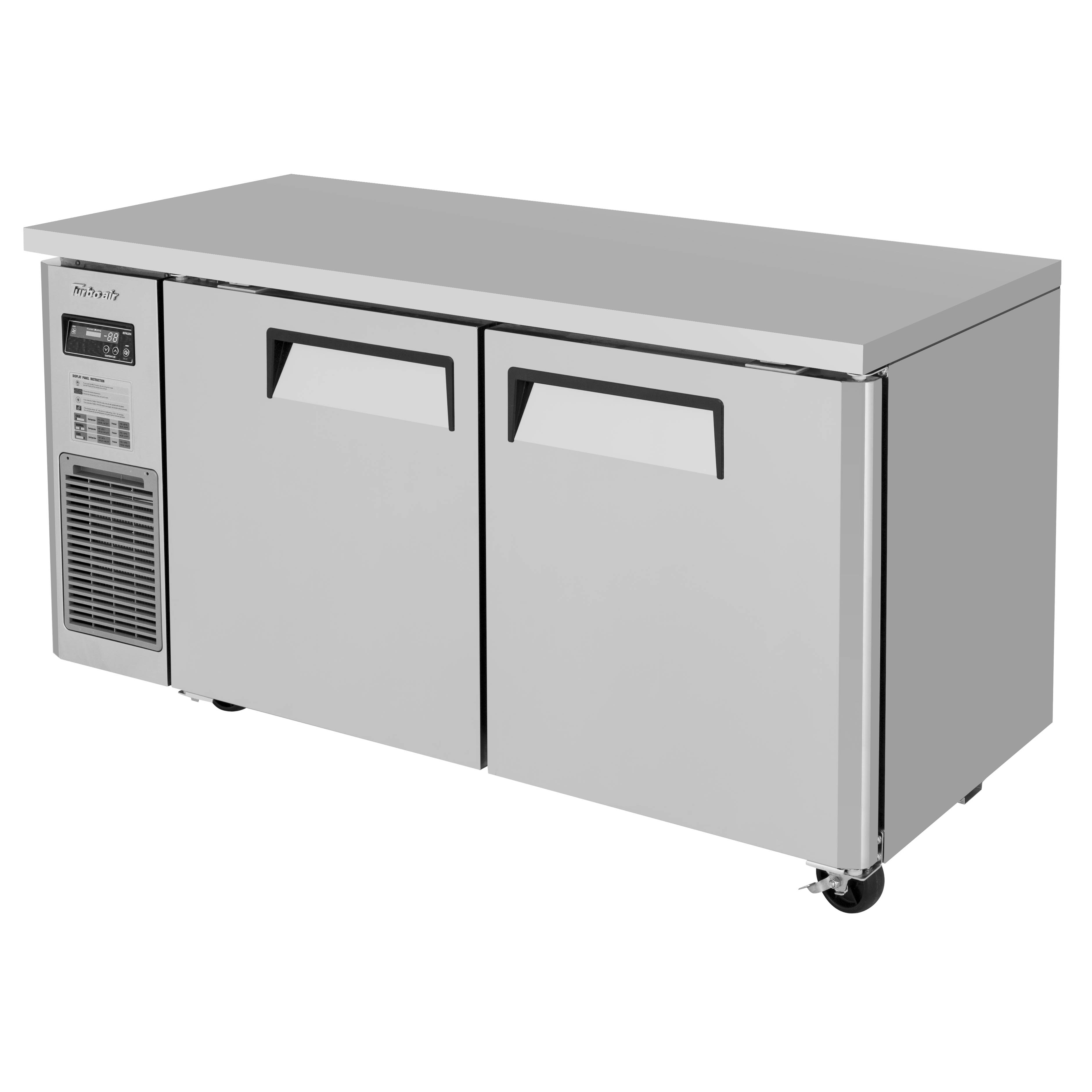 Turbo Air JUF-60S-N freezer, undercounter, reach-in