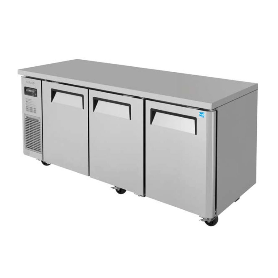 Turbo Air JUR-72S-N6 refrigerator, undercounter, reach-in