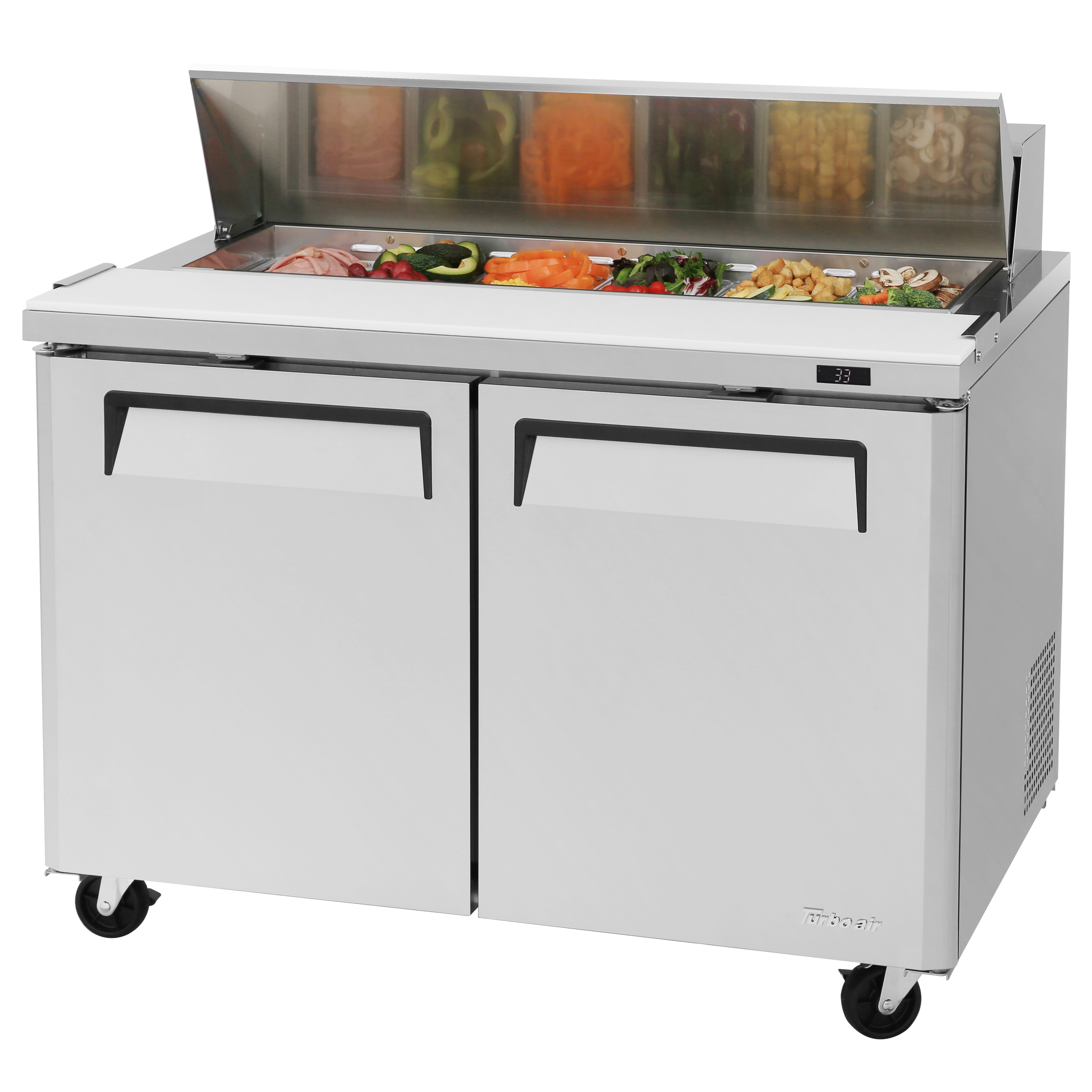 Turbo Air MST-48-N refrigerated counter, sandwich / salad unit