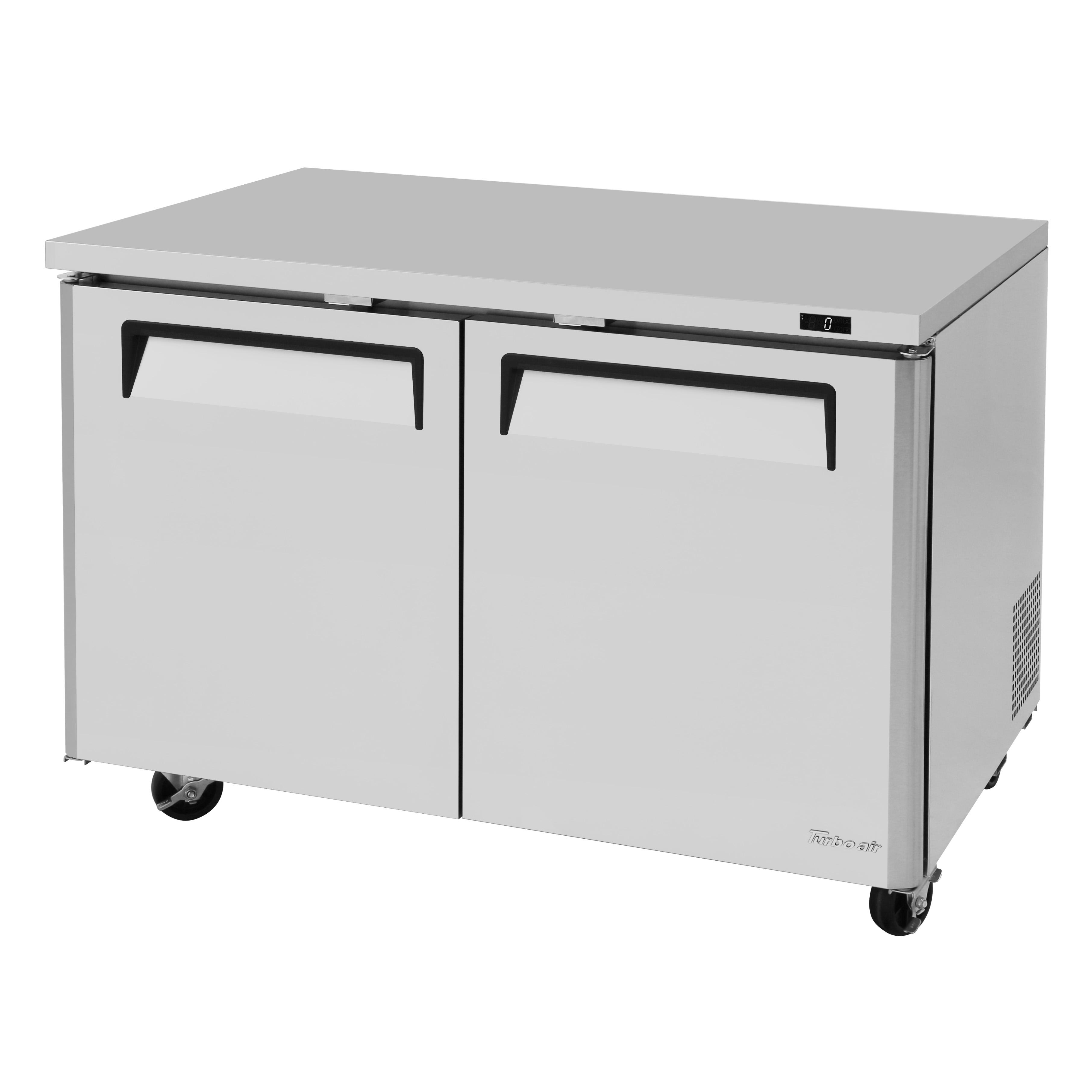 Turbo Air MUF-48-N freezer, undercounter, reach-in
