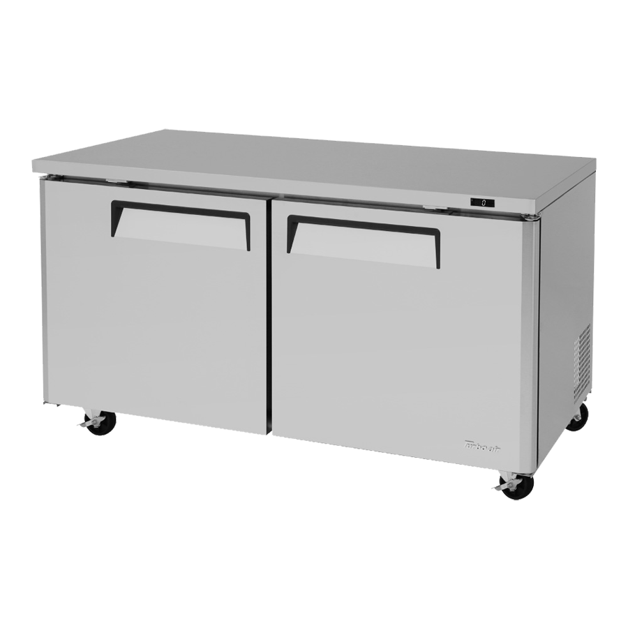 Turbo Air MUF-60-N freezer, undercounter, reach-in